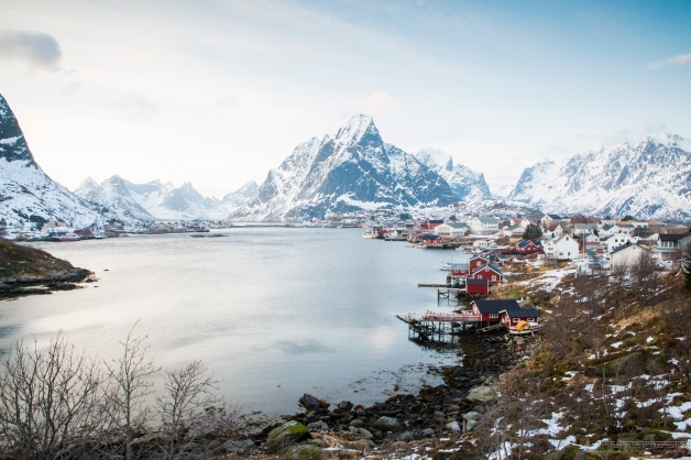 Reine, Lofoten. All Rights Reserved.
