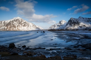 Skagsanden Beach, Lofoten. All Rights Reserved